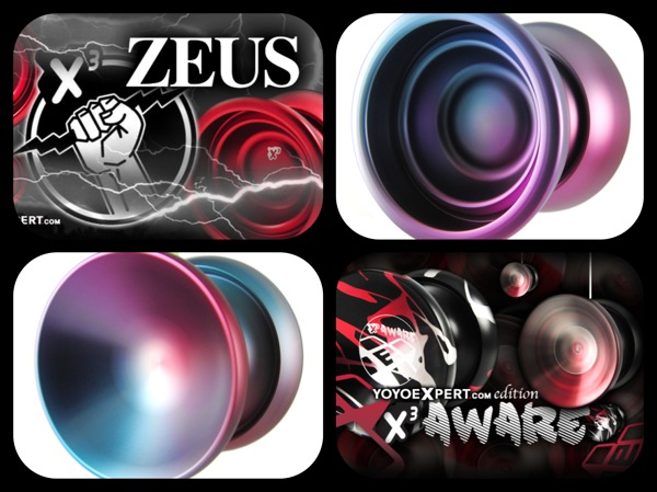 X³ AWARE & ZEUS || Restocks In Great Colors!