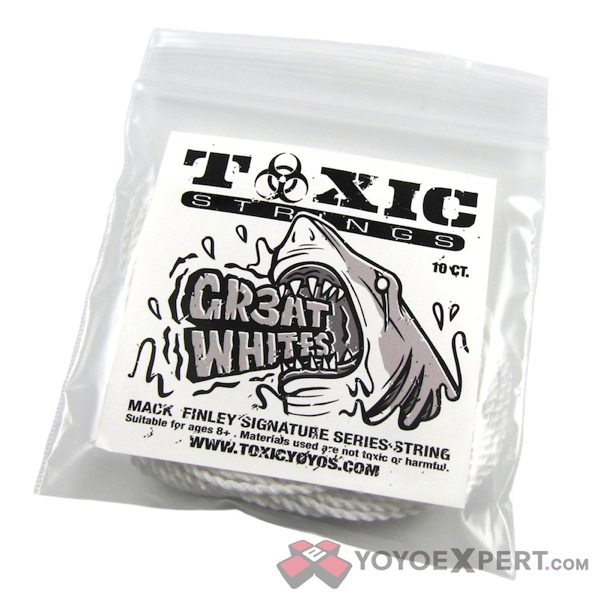 GR3AT WHITE || Mack Finley Signature String || @ToxicStrings