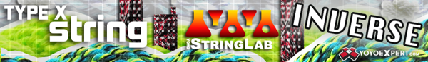 Left Handed String || INVERSE TYPE X || @YoYoStringLab