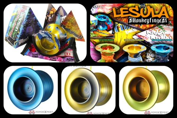 New Yo-Yo || The LESULA is RELEASED || @MonkeyFingerYO