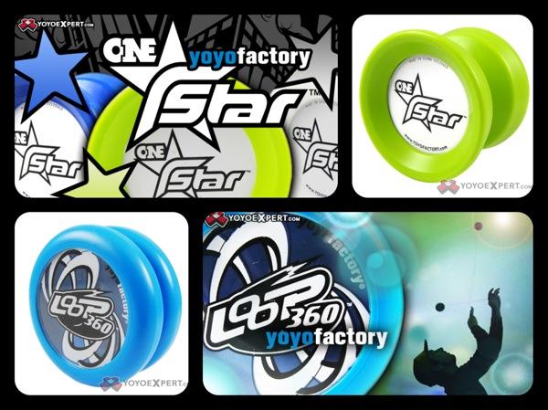 YoYoFactory New Plastic Releases    ONEstar & Loop 360    @YoYoFactory