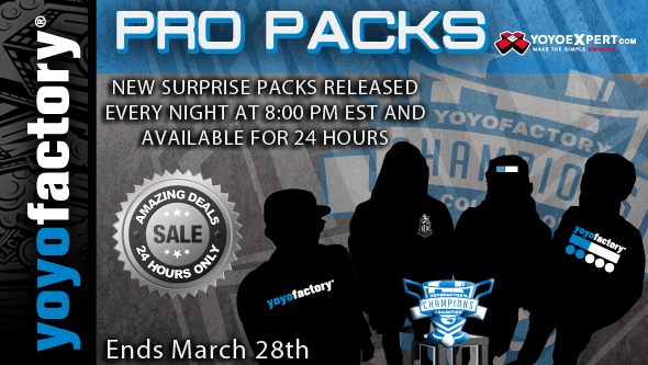 YoYoFactory PRO PACKS || 24 Hour Sales Start TONIGHT || @YoYoFactory