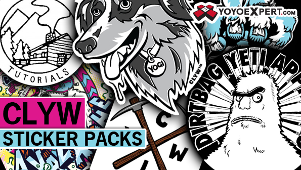 CLYW Sticker Pack