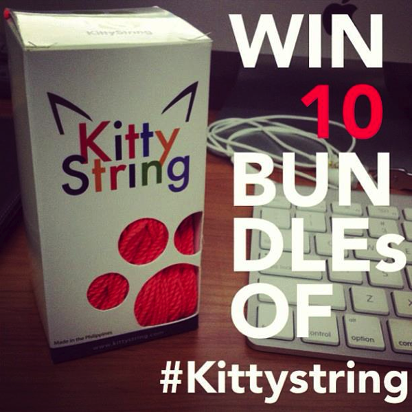Do you follow Kitty String on Instagram yet?! @Hirokittykoba