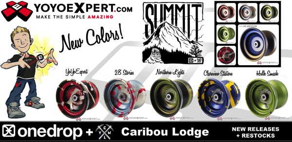 SUMMIT RESTOCK | NEW SPLASH Editions RELEASING | @OneDropDesign @CLYW_Canada