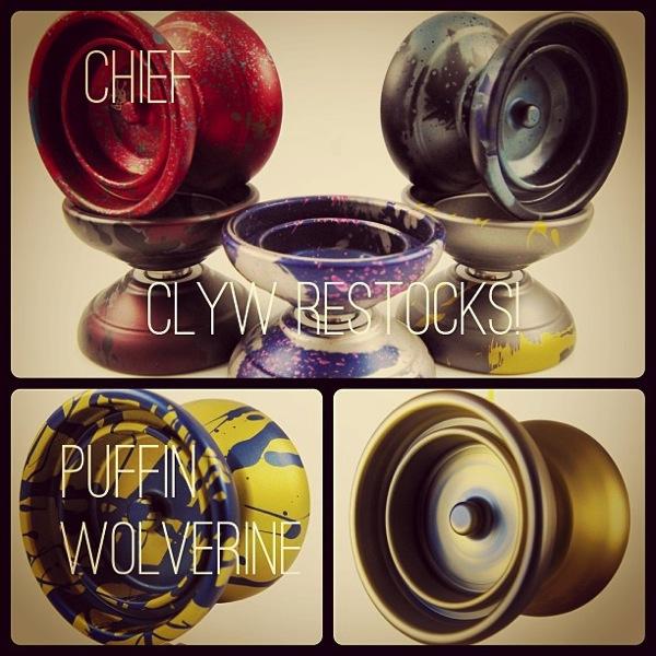 CLYW Restocks