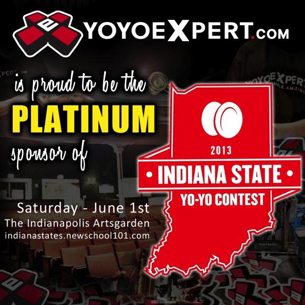 Indiana State Yo-Yo Contest | YoYoExpert Platinum Sponsor