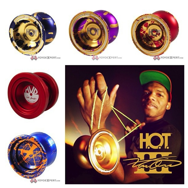 Special Edition YoYoFactory Yo-Yos | SPLASH H.O.T., Clint Armstrong MVP2, and 7075 Catalyst