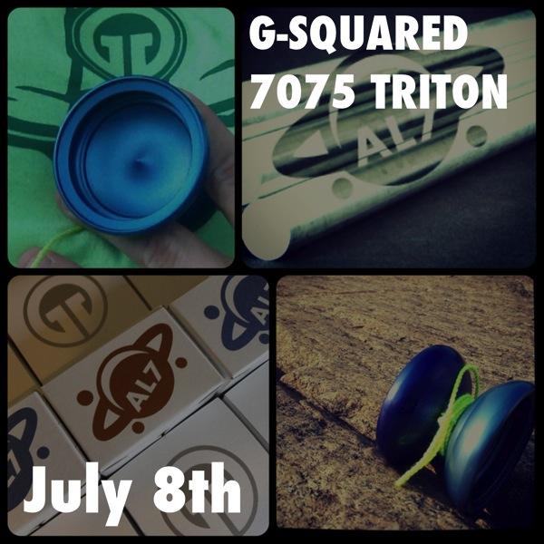 G-Squared AL7 Triton   7075 Exclusive Release