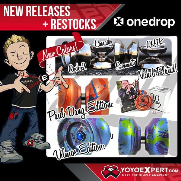 OneDrop Nickel Yo-Yo Restock