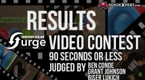 YoYoJam x YoYoExpert SURGE Video Contest Results