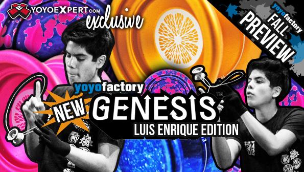 YoYoFactory New Genesis Luis Enrique