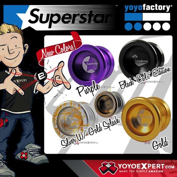 YoYoFactory New SuperStar Restock
