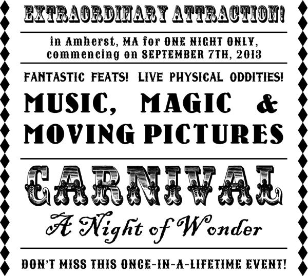 Carnival Night of Wonder Amherst