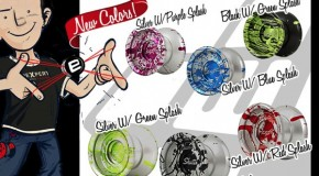 New Shutter SPLASH Colors | YoYoFactory
