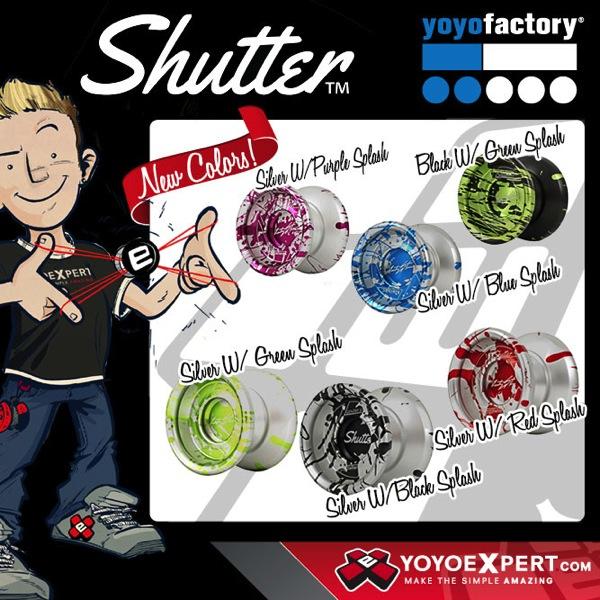 Instagram YoYoFactory Shutter