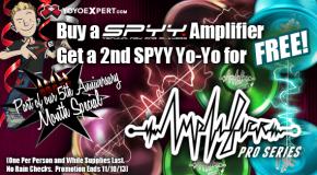 SPYY Deal – Buy Amplifier get 2nd SPYY Yo-Yo FREE