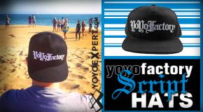 YoYoFactory Script Hats