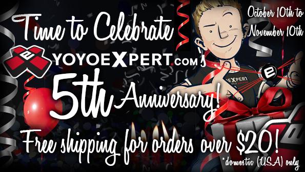 YoYoExpert 5th Anniversary