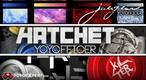 New YOYOFFICER Yo-Yos Are Here! Jaeger, Hatchet, and Kilter!