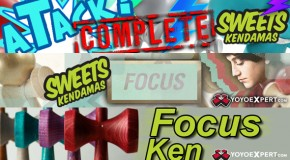 All New Sweets Focus Kendama and Focus aTack Complete Kendama!