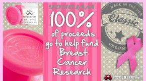 Thanks to YoYoJam and You – $1350 Donated to Breast Cancer Research