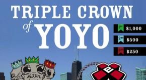 Triple Crown of YoYo 2014 – July 12th – Chicago!