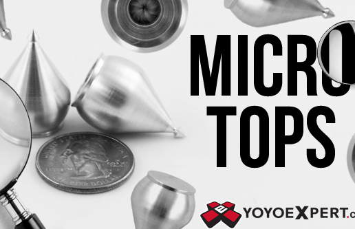 High Performance Micro Spin Tops!