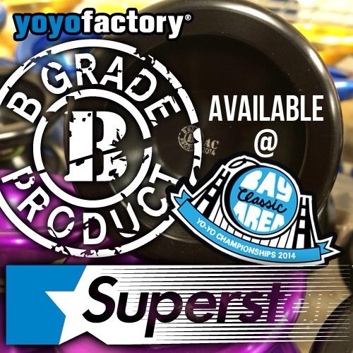 YoYoFactory B-Grade 2014 BAC