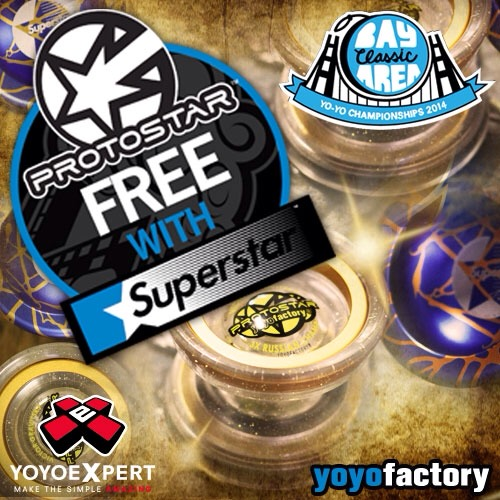 Free Gravitsky Protostar w/ New Superstar Purchase