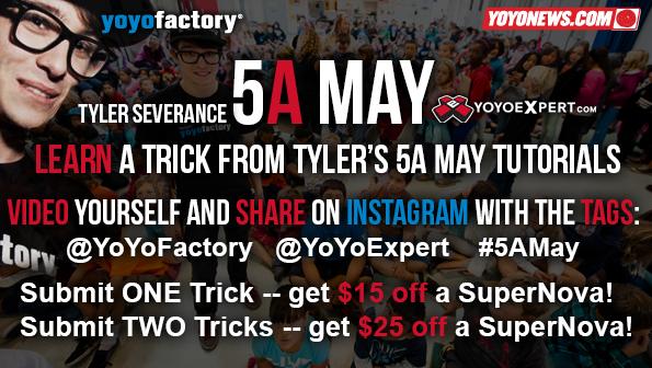 5A May YoYoExpert Tyler Severance