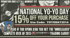 2014 National Yo-Yo Day!