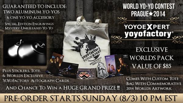 YoYoFactory PRAGUE Pack
