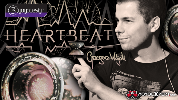 c3yoyodesign heart beat