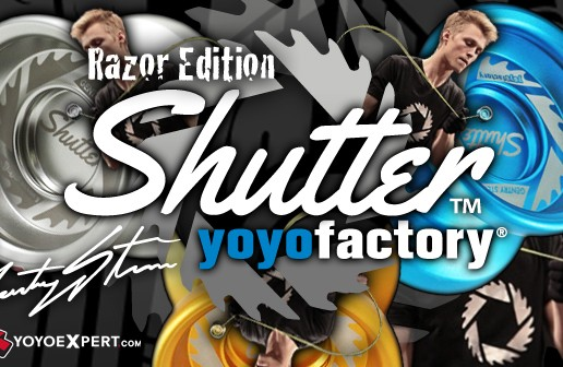 YoYoFactory Presents the Razor Edition Shutter!