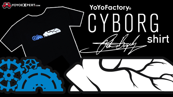 yoyofactory cyborg shirt