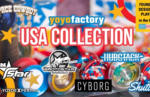 The YoYoFactory USA Collection is Here!! MMMURICAAAA!!!