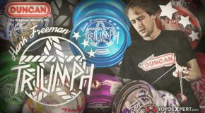 New Duncan Triumph! Hank Freeman Signature Yo-Yo!