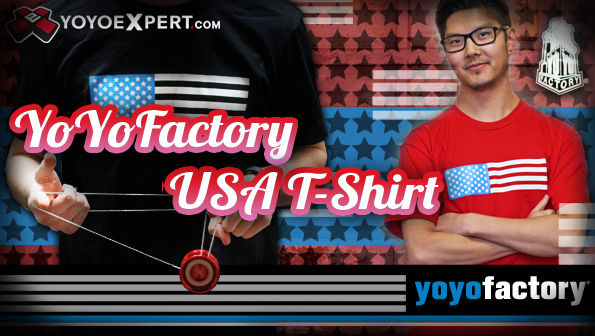 yoyofactory usa t-shirt