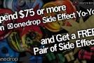 ONE DROP SIDE EFFECT SALE!