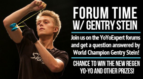 Forum Time W/ Gentry Stein – Winners Announced!