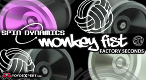 Monkey Fist Factory Seconds from Spin Dynamics!