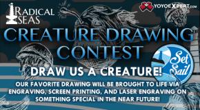 Radical Seas Creature Drawing Contest!
