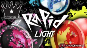 New Release! King Yo Star RAPID LIGHT!