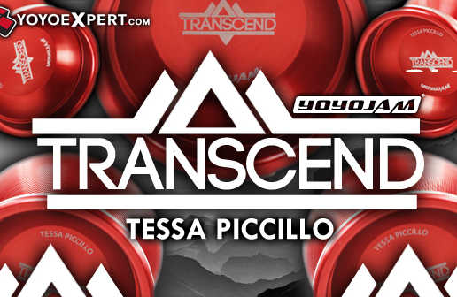 Tessa Piccillo Signature Yo-Yo! The YoYoJam Transcend!