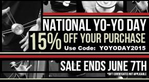 Happy National Yo-Yo Day!