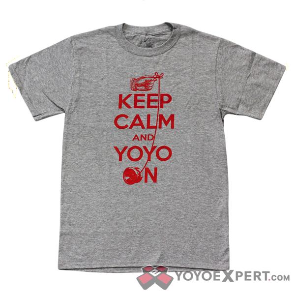keep calm and yoyo t-shirt