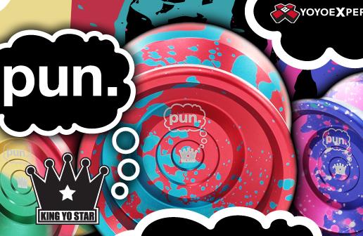 New Release! The King Yo Star PUN!