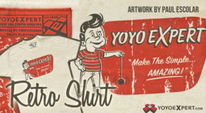 New YoYoExpert Retro T-Shirt & Keychain!