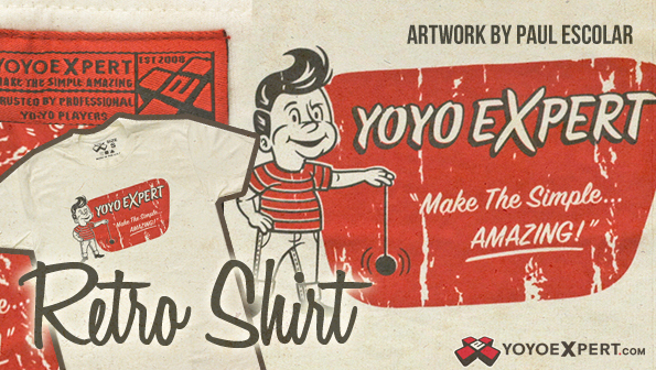 yoyoexpert retro t-shirt